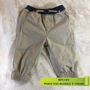 George Blue and Beige Chinos